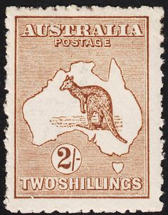 Realisations (Public Auctions) / Stamps - King George V - Kangaroos King George V, Australia Kangaroo, Deep, Fresh, Postage Stamps, Vintage World Maps, Poster, Auction, Antiques
