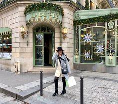 Laduree Macarons #macarons #laduree #ladureeparis #parisfashion #iloveparis #outfitoftheday #winterfashion #fashion #myphoto #me Paris Fashion, Winter Fashion, I Love Paris, Macarons, Outfit Of The Day, My Photos, Coat, Jackets, Photography