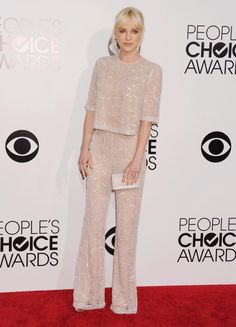 Anna Faris; People's Choice Awards 2014  Sparkly jumpsuit = <3