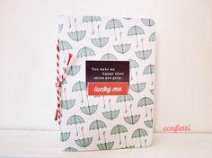 """Libreta """"Lucky me"""", Papel, Cuadernos"""