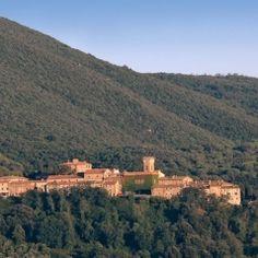 Location #120 - medieval hamlet & castle