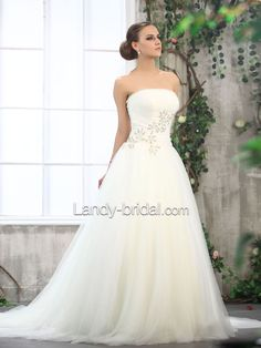 My dream wedding dress, I want to walk down the aisle someday in this dress!!!!!!