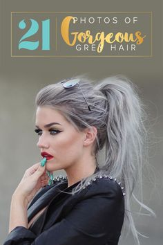 21 Pinterest Looks That Will Convince You to Dye Your Hair Grey.