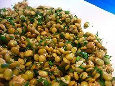 Show de Salada de Lentilha ! Vegetarian Recipes, Cooking Recipes, Healthy Recipes, Good Food, Yummy Food, Lentil Salad, Lentil Stew, Portuguese Recipes, Light Recipes