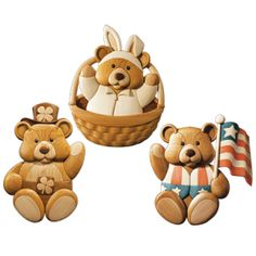 I want to make the easter bear