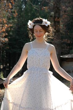 1970s Gunne Sax Style Dress Victorian Revival by AstralBoutique, $58.00