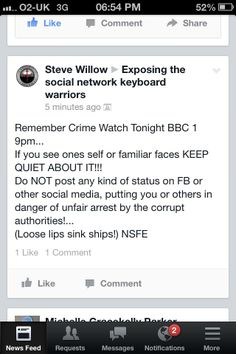 Steve. I have an archive full of #EDL bragging about what they did in Birmingham. You're a bit late, pal...