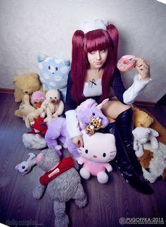 Kisara as Riruka Dokugamine from Bleach Bleach Cosplay, Cosplay Ideas, Anime, Art, Art Background, Kunst, Cartoon Movies, Anime Music, Performing Arts