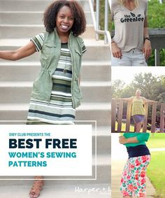 Check out my updated list of the BEST FREE SEWING PATTERNS for women! All of them are perfect for BEGINNERS and are a great way to pick up sewing your own clothes without dropping lots o' cash. I can't wait to sew up another Agnes! Read the article to find your new favorite