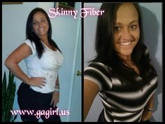 The first pic was took 3 weeks ago and the second is now. I've been on skinny fiber religiously for a month now. I'm happy to say it's not only made my waist smaller, it has helped me health wise. I no longer have to take my acid reflux meds and I was having health issues, my dr recommended me to keep taking it cause it was WAY better for me than the meds he prescribed for me.  Don't wait around for something to go wrong get yours today. Take the 90 day challenge: www.bosslady23.us You only…