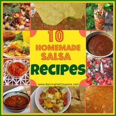 10 Homemade Salsa Recipes