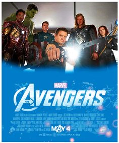 Marvel's The Avengers - James favorite movie :) ever