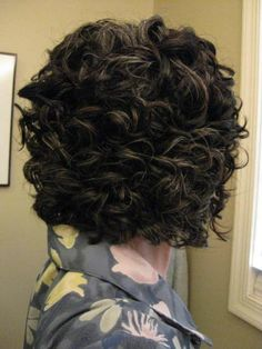 Super Naturally Curly Inverted Bob Curl Haircut Pinterest Bobs Hairstyle Inspiration Daily Dogsangcom