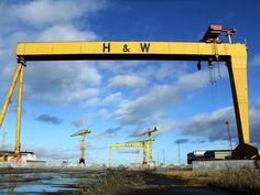 Harland and Wolff Titanic Ship, Rms Titanic, Emerald Isle, She Likes, Earth Day, Belfast, Green Grass, Northern Ireland, Us Travel