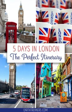 London Itinerary: The ultimate London itinerary, perfect if you have 2, 3, 4, or 5 days to spend here. The best things to do, including maps, prices, and money saving tips. #london #england #itinerary #travelguide