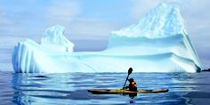 Iceberg viewing in Iceberg Alley – Newfoundland and Labrador – By Land, Boat or Kayak Best Fishing Kayak, Sea Fishing, Bass Fishing, Kayaks, Whale Species, Road Trip, Inflatable Kayak, Newfoundland And Labrador, Newfoundland Canada