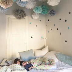 The most beautiful room we've ever seen! Dekornik.pl raindrops in hohonie's room…