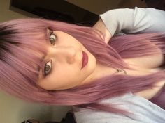 Pink hair, pastel hair. Color is Igora Pearlescence by Schwarkopf, in Pastel Candy
