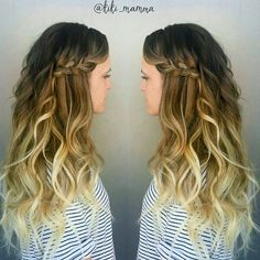 Side swept braid for a bride, color by Kirsten enhanced with @bellamihair @guy_tang Ombre Balayage Clip in extensions.  #balayage #balayageombre #hairpainting #guytang #btcpics #behindthechair #ombrehair #ombre #bellami #bellamihair #bellamibella #longhair #amberfillerup #utahweddings #utahstylist #utahsalons #beachhair #beachwaves #modernsalon #utahbride #utahvalleybride #bridalhair #lorealpro #TIGI #TIGIpro #braids #hairbraids #instabraid #instahair #repost @kiki_mamma #Padgram