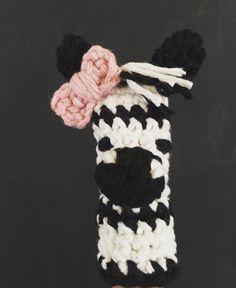Finger puppet-zebra