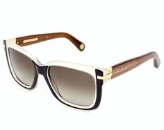 8104035d56edcc Marc Jacobs sunglasses for women, MJ - This pair of sunglasses is made in  Acetate Black - Crystal with Brown Gradient lenses.