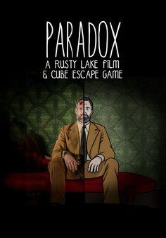 Paradox: A Rusty Lake Film poster, t-shirt, mouse pad Lake Games, Never Dead, Lake Hotel, Lake Art, Creepy Horror, Past Present Future, We Movie, Itachi, Film Posters