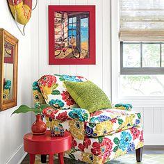 Eclectic Palette - Cottage in Bloom - Coastal Living