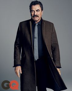 Tom Selleck Belongs in the Man's Man Hall of Fame | GQ - wearing Alexander Olch