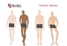Fashion Figures - Men on BrikL Discovery Fashion Figures, App Design, Discovery, Movies, Fashion Design, Men, Croquis, Films, Cinema