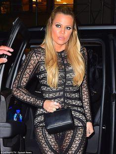 012f54c45dd6 Khloe Kardashian shows off her slender hourglass curves in NYC