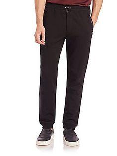 Saks Fifth Avenue Collection Jogger Pants - Black - Size
