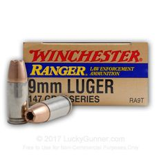 Image 1 of 9mm Ammo from Winchester