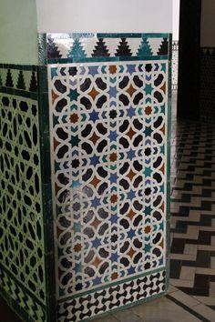 mosaic wall, Real Alcazar, Sevilla Portugal