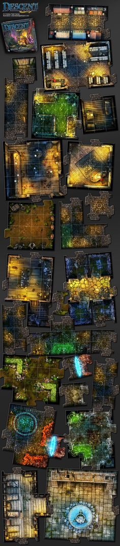 Descent, Shadow Of Nerekhall expansion by henning
