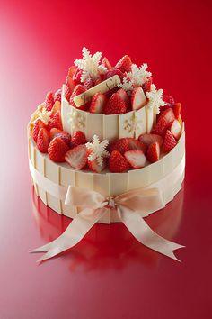 アンリ・シャルパンティエから、いちごと生クリームを贅沢に使ったケーキが登場 写真1