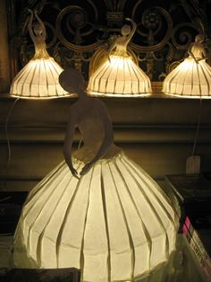 illuminated paper beings