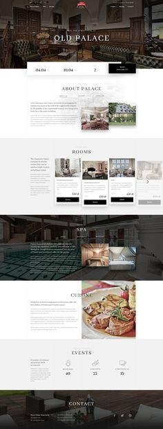 Need Help Understanding Wordpress? Website Layout, Web Layout, Layout Design, Website Ideas, Web Hotel, Hotel Sites, Web Design Mobile, Web Ui Design, Flat Design
