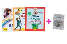 "Mom Hacks Bücher Bundle + Ausstecher ""Kreis"" 