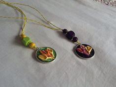 Ciondoli con cialde colorate