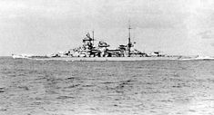 11 in battleship Scharnhorst, also in 1941, showing the different mainmast location to sister Gneisenau (photo nearby). She was sunk by the Royal Navy at the Battle of the North Cape on Boxing Day 1943: only 36 of her crew were picked up from the freezing Arctic waters.