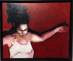 Christa 2 - olio su Lino - 2015