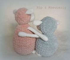 Hip & Kneuterig: Amigurumi Zacht SCHAAPJE gratis haakpatroon Crochet Sheep, Crochet Animals, Diy Crochet, Crochet Toys, Diy And Crafts, Teddy Bear, Cute, Budget, Design Ideas