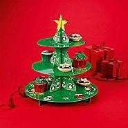 Christmas Cake Stand (Avon)