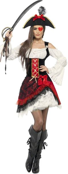 Looking for Glamorous Lady Pirate Costume? Get it from our wholesale Pirate Fancy Dress range today. Visits Smiffy's wholesale for all your Adult Fancy Dress needs today. Pirate Fancy Dress, Adult Fancy Dress, Adult Costumes, Costumes For Women, Halloween Costumes, Pirate Costumes, Adult Halloween, Fancy Dress Outfits, Dress Hats