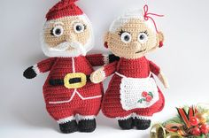 Do you hear the sound of Holiday Santa Claus ragdoll free crochet pattern ⋆ Passionatecrafter Crochet Dolls Free Patterns, Christmas Crochet Patterns, Crochet Doll Pattern, Amigurumi Patterns, Doll Patterns, Crochet Christmas, Crochet Ornaments, Crochet Ideas, Knitting Patterns