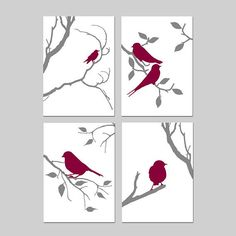 Bird Decor Bird Wall Art Bird Art Grey Bird Art Set of 4 Bird Bird Decor Bird Wall Art Bird Art Grey Bird Art Set of 4 Bird <!-- without result -->Related Post Animated Gradient Button Hover Effect Art. Bird Wall Art, Bird Artwork, Canvas Artwork, Artwork Prints, Canvas Prints, Vogel Silhouette, Bird Silhouette, Bird Bedroom, Bedroom Artwork