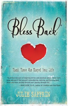 BlessBack®: Thank Those Who Shaped Your Life (paperback) by juliesaffrinsstuff on Etsy