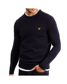 Boys Lyle And Scott Long Sleeved Top Navy Age 10-11 Years