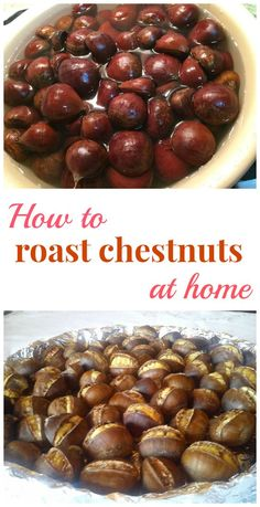 How to roast chestnuts at home - The Best Recipe Ever