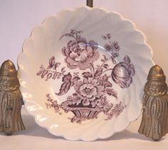 "Charlotte Lavender Royal Staffordshire Dinnerware England Fruit Dessert 5"" Bowl #CharlotteRoyalCrownfordStaffordshire"